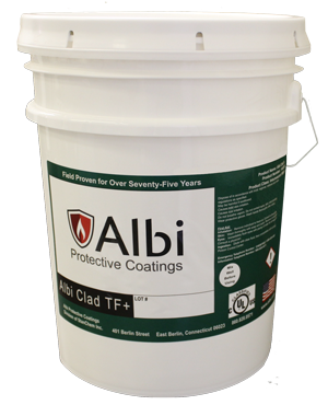 Intumescent paint Albi Clad TF +