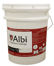 Fire resistant paint coating and spray Albi Clad TB